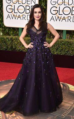 Ana de la Reguera from 2016 Golden Globes Red Carpet Arrivals