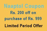 Naaptol Coupon: Get Rs 200 OFF on Purchase of Rs 999