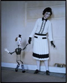 """Mechanical Dolls""   Model: Audrey Marnay, Photographer: Tim Walker, Suffolk, UK, Vogue Italia, October 2011"