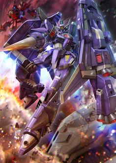 Arte Gundam, Gundam Art, Mecha Anime, Super Robot, Suit Of Armor, Mobile Suit, Armors, Most Favorite, Weapons