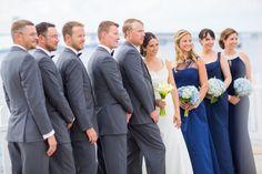 #JohnOrtonFlowersandEvents #HyattRegencyNewport #MStudios #Wedding #NewportRI #NewportWedding #FallWedding #BridalParty #Groomsmen #Bridesmaids #Bride #Groom #Flowers #Blue #Hydrangea #CallaLily  #Bouquet