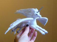 Made to Order - Pegasus Alicorn. $65.00, via Etsy.