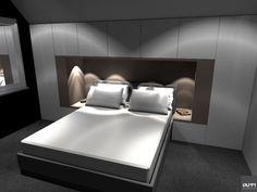 Ontwerp maatwerk slaapkamer inrichting