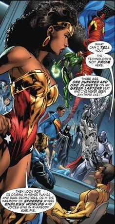 marcsblerdblog:  The All Black Justice League of Earth-23 featured in Multiversity. Though its only for a couple panels, it is still very mindblowing.