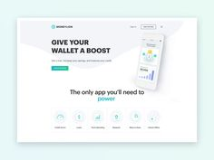 MoneyLion website by clᴧy