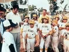 Walter Matthau and The Bad News Bears. Coach Buttermaker