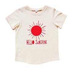 Hello Sunshine Kids T-shirt. $29.00, via Etsy.