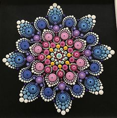 Original acrylic mandala painting. This painting is on 12 x 12 canvas framed to 14.5 X 14.5 finished product. Painting is signed, dated, and comes to you with a bluebird of happiness. It is my hope that each painting created with love and joy will bring the same to you...Namaste