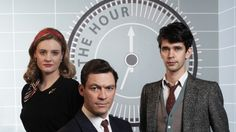 The Hour. BBC TV. Great characters, cinematography, plot, acting, sets. I look forward to the sequel.