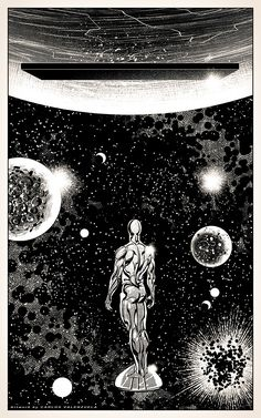 Silver Surfer's Odyssey by Valzonline.devian… on Best Picture For Marvel Comics original For Your Taste You are looking for Marvel Comics Art, Bd Comics, Marvel Heroes, Captain Marvel, Comic Book Artists, Comic Books Art, Comic Art, Tachisme, Surfer D'argent
