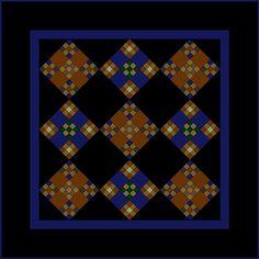 Miniature Quilt Patterns: Amish Double Nine-Patch Quilt: About the Amish Double Nine-Patch Mini Quilt Amische Quilts, Mini Quilts, Barn Quilts, Amish Quilt Patterns, Pattern Blocks, Amish Quilts For Sale, Nine Patch Quilt, Miniature Quilts, Antique Quilts