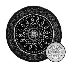 The Beach People Dreamtime Round Towel