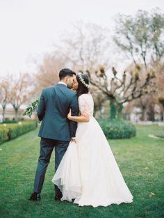 modest wedding dress - modest bridal gown from alta moda. ----     photo; jonathan canlas