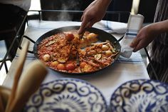 Roll out the paella cart at Republica Kansas City