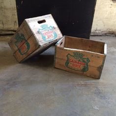 Wood Crate - Canada Dry