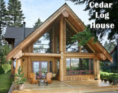 cedar cabins | ... - Gill Timbers is exporting Cedar logs, cedar logs for loghouses