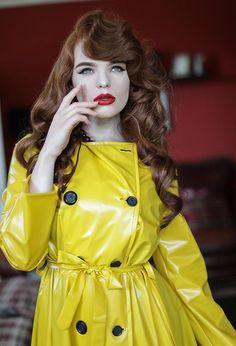 Raincoats For Women Beautiful Refferal: 5786541549 Black Rain Jacket, Rain Jacket Women, Parka, Hooded Raincoat, Vinyl Raincoat, Plastic Raincoat, Yellow Raincoat, Raincoats For Women, Trench Coats