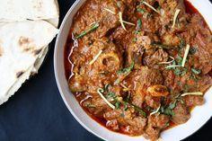 Mughlai Karahi Gosht – Slow cooked lamb curry with tomatoes, garlic and garam masala Lamb Recipes, Curry Recipes, Indian Food Recipes, Cooking Recipes, Indian Foods, Diwali Recipes, Indian Dishes, Drink Recipes, Marinated Lamb