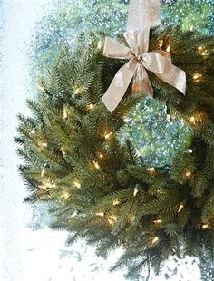 Silverado Slim Artificial Wreath