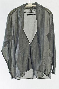 Grey Kimono Top by Nicholson and Nicholson | Heist