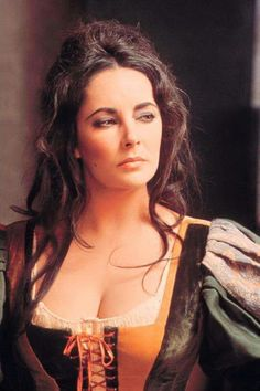 "Elizabeth Taylor in "" The Taming of the Shrew "" c. 1967"