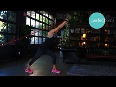 @FrancenePerel: #Workout #resistance-band routine that strengthens, tones, and gets your heart rate going