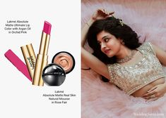 Trendy Bridal Beauty Looks of 2019 That Every Bride Will Love | Bridal Beauty | WeddingSutra lakme kareena kapoor khan makeup mousse deep pink lipstick hue lehenga indian bride wedding indian Bridal Beauty, Bridal Makeup, Makeup Trends, Beauty Trends, Indian Skin Tone, Bollywood Images, Luxury Collection Hotels, Pink Tulle, Nude Lip