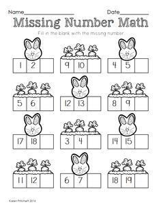 15 Mejores Imágenes De Matemáticas Preescolares En 2020 Kindergarten Math Worksheets, Preschool Math, Math Classroom, Teaching Math, In Kindergarten, Math Activities, Easter Worksheets, Numbers Preschool, Math Math