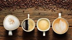 You may love coffee, but can you tell a Latte apart from a Cappuccino? We've compiled a list of the 16 different types of coffee drinks, so that the next time you go out, you know exactly what to order! Types Of Coffee Beans, Different Types Of Coffee, Different Coffees, Coffee Market, Coffee Shop, Banana Madura, International Coffee, Espresso Shot, Coffee Health Benefits