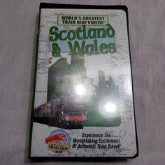 World's Greatest Train Ride Videos Railroad Scotland & Wales VHS Landmarks