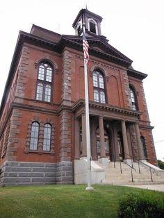 Sagadahoc County Courthouse.  Bath, Maine.  Photo Patrick Moran 2013.