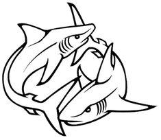 tribal-shark-tattoos-designs-07-1.png (600×521)