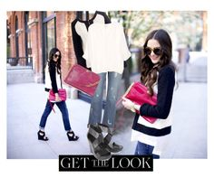 """Get the look"" by delfioviedo ❤ liked on Polyvore featuring Paige Denim, Diane Von Furstenberg, J.Crew, Joie, HOBO, women's clothing, women's fashion, women, female and woman"
