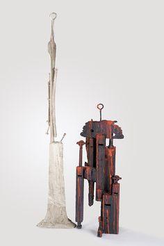 AmericanBrits: And something a bit different... sculpture by Rodney Beecher Roberts #art #americanbrits #abstractart #artexhibition #sculpture