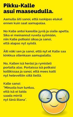 Vitsit: Pikku-Kalle asui maaseudulla - Kohokohta.com