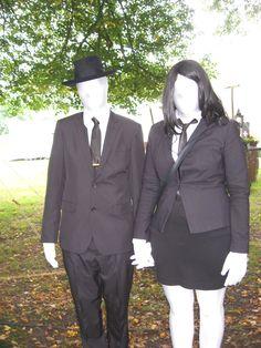Slender Man & Slender Woman Elfia Arcen 2014