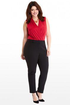 Cigarette Pants | Plus Size Fashion | Plus Size Fashion