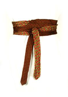 Ties that Matter.  tiesthatmatter.com  I love these belts!!!  Made from men's neckties. Inexpensive and very well made!
