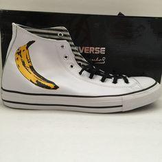 DS Converse Chuck Taylor All Star Andy Warhol Banana Size 13