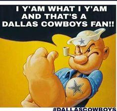 Cowboys fan I am!