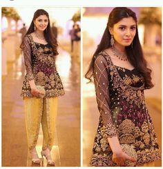Latest Trends Of Tulip Pants In Pakistan 2019 Pakistani Wedding Outfits, Pakistani Dresses, Indian Dresses, Indian Outfits, Indian Anarkali, Pakistani Couture, Pakistani Dress Design, Pakistani Bridal, Wedding Dresses For Girls