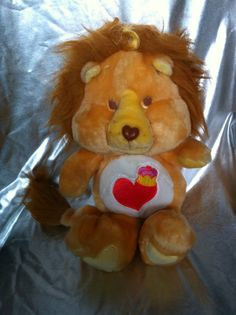 Vintage The Carebears Cousin Brave Heart Lion by rollergurl52, $15.00