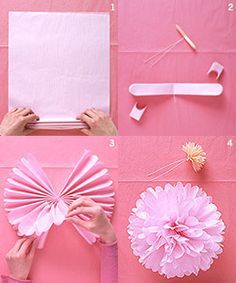 Dont call it a party without this diy pinterest tissue paper do it yourself tissue paper pomanders solutioingenieria Image collections