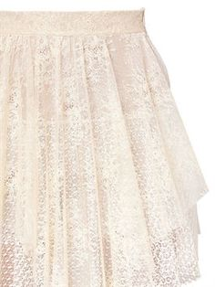 philosophy di lorenzo serafini - women - skirts - asymmetric layered lace skirt