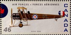 46c Canadian Postage Stamp 75th Anniversary of the RCAF