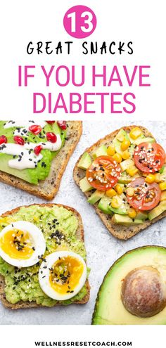 If you have diabetes, knowing what to eat can be challenging. And, specifically, the best snacks for diabetes. You want snacks that are delicious, nutritious, and keep your blood sugar at the right level. To help you out, I put together a list of snacks for diabetes that will satisfy you without raising your blood sugar too high. Healthy Fats, Get Healthy, Healthy Life, Apple Cider Vinegar Shots, Frozen Fruit Bars, Bean Chips, Low Fat Cream Cheese, Snacks List, Chocolate Protein Powder