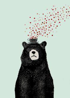 #bear #whimsical #art