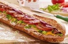 Tailgate Turkey & Ham Club Sub