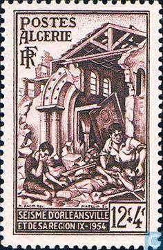 Algeria - Orleansville Earthquake 1954