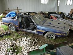 Cars in Barns - GT-500